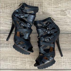 L.A.M.B. Gwen Stefani Lug Sole Heels